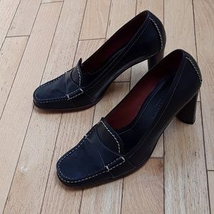 Cole Haan country loafer heels